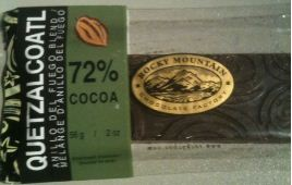 RMCF quetzalcoatl chocolate bar