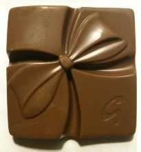 galaxy chocolate gift unwrapped