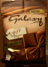 galaxy chocolate gift