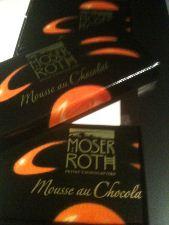 moser roth orange chocolate bars