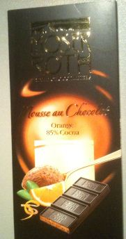 Moser Roth Mousse au Chocolat Orange 85% Cocoa Chocolate Bars