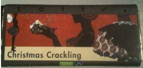 Zotter Christmas Crackling Bar