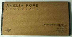 Amelia Rope Dark Chocolate with Whole Coffee Beans