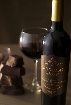 The Chocolate Shop Chocolate Wine