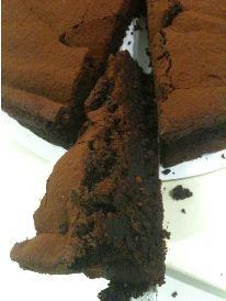 gails flourless cake piece