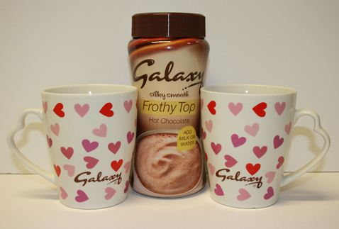 Win Galaxy Frothy Hot Chocolate & Pair of Mugs [CLOSED]