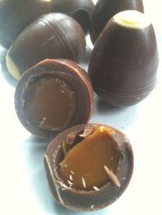 hotel chocolat caramel egglets