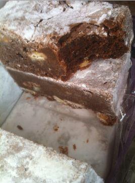 devilishly good brownies cut