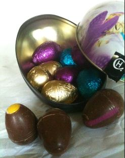 Hotel Chocolat Keepsake Easter Egg Tin
