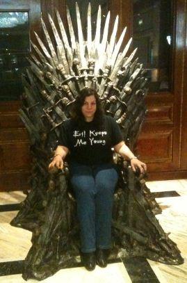 me on iron throne of westeros