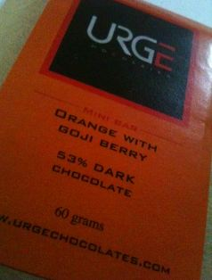 urge goji berries