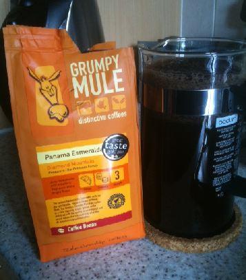 Grumpy Mule Panama Esmeralda Coffee
