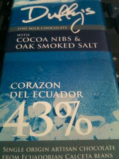 duffys smoked sea salt bar