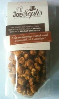 caramel chocolate popcorn bag