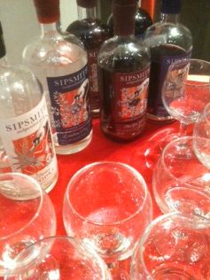 Charbonnel et Walker with Sipsmith Sam