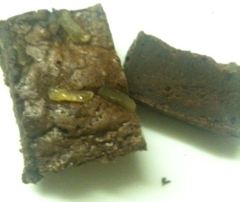 Fair & Square Chocolate ginger brownie