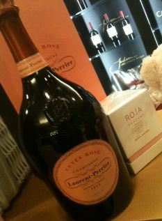 harrods valentines champagne candle