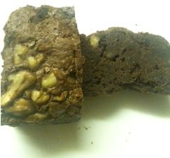 Fair & Square Chocolate walnut brownie