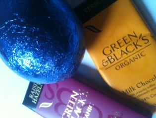 Green & Blacks Milk Collection Egg Reviewed