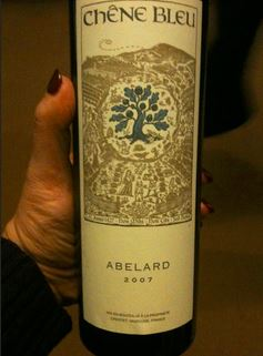 Chene Bleu Abelard 2007 Red Wine Review