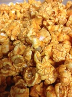 cheese and smpked paprika popcorn bag