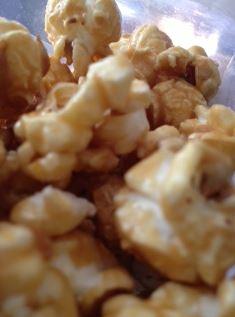double salt creamy caramel popcorn