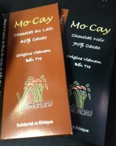 mo cay chocolate bars