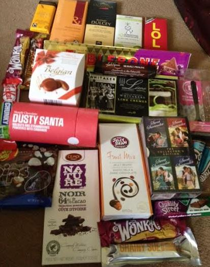 WIN All This Chocolate and More To Beat January Blues