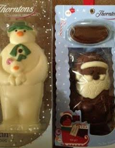 thorntons snowman santa