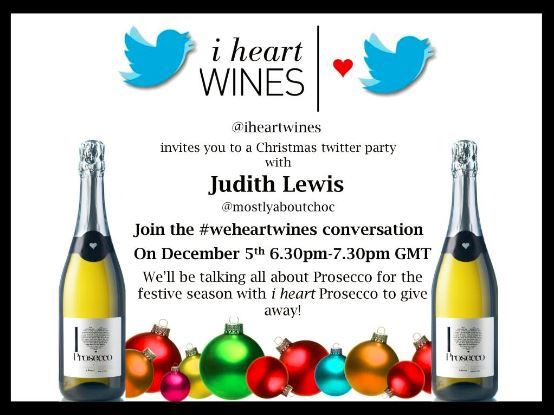 Join Me For a Twitter Party Tomorrow at 18:30 UK time