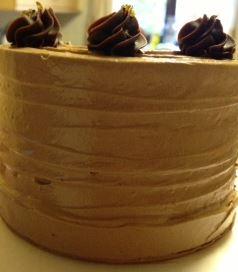 triple chococolate cake