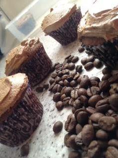 espresso coffee cupcakes