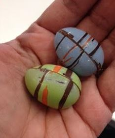 demarquette easter eggs in my hand