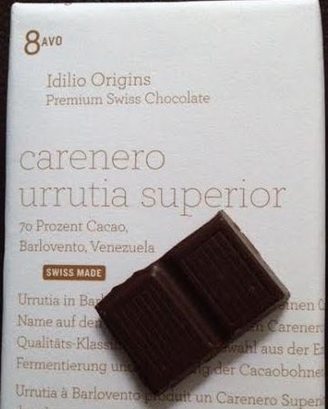 Idilio Carenero Urrutia Superior Chocolate Bar Reviewed