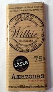 Wilkie's Chocolate Amazonas 75% Stone Ground Chocolate Reviewed