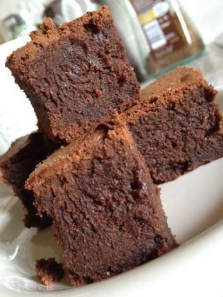 gooey fudgy deeply chocolaty brownies