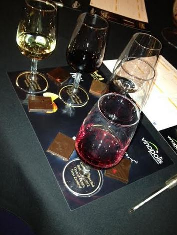 lindt wine pairing evening