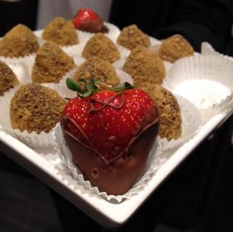 godiva strawberry