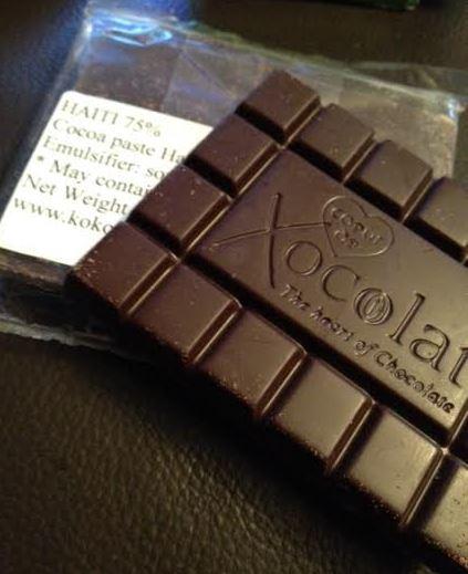 haiti coeur de xocolat