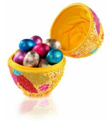 godiva beaded egg