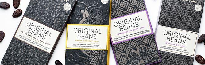 Original Beans Four New Bars Reviewed - Grand Cru, Edel Weiss, Femmes de Virunga & Kerafat