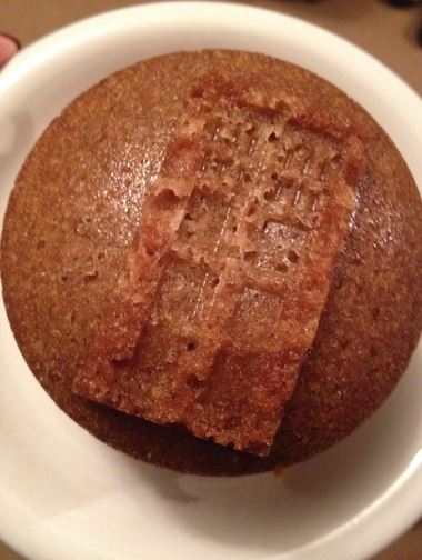 Dr Who Coffee Mini Cakes