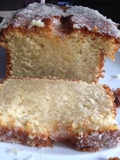 Elderflower Crunch Drizzle Loaf Cake Recipe