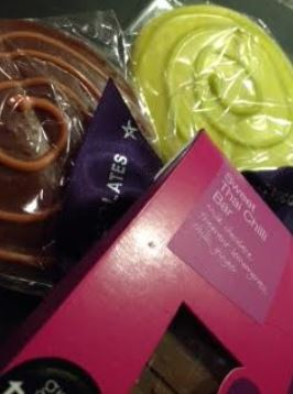 james spring chocolate collection
