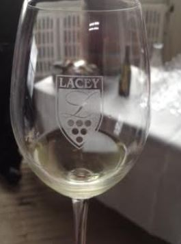 l is for lacey glass