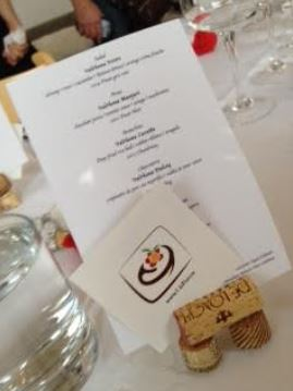 l is for menu for the evening supper club