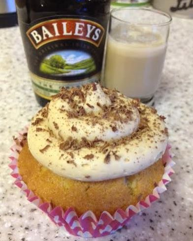 Boozy Baileys Irish Cream Cupcakes With Baileys Frosting Recipe ...