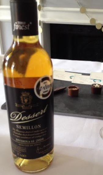 Lily O'Brien's Zesty Orange Chocolate Paired with Tesco Finest Dessert Semillon 2009