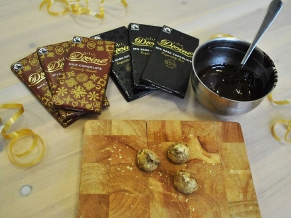 divine chocolate workshop