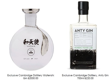 expensive gin from Selfridges